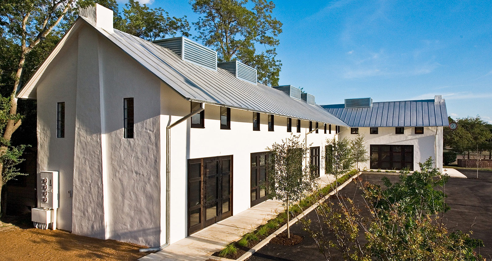 Exterior shot of John Grable Architects office