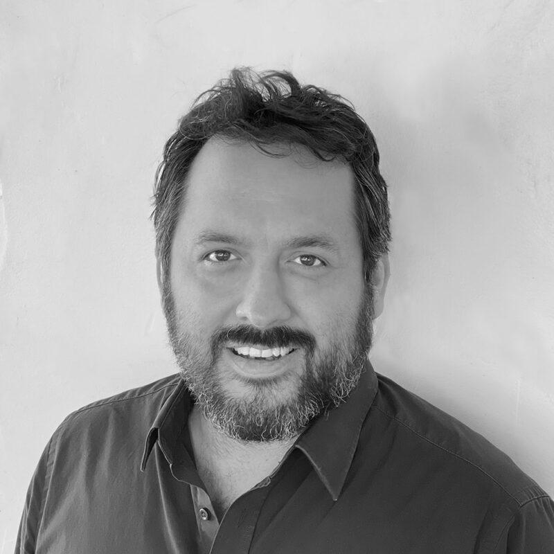 Matthew Martinez headshot in black and white